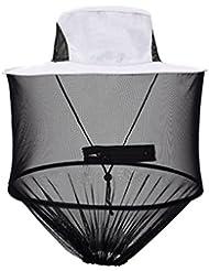 Dooxi Al Aire Libre Resistente al Viento Sombrero Anti-Mosquito Abeja Insectos Malla de Sombreros Protección Facial