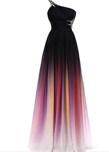 Drasawee - Robe - Taille empire - Femme Multicolore - Multicolore