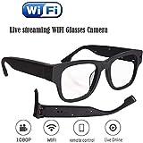 DSAEFG Live Camera 30M Streaming Bicchieri Bicchieri WiFi con Digital Video Recorder Portale camma di Sicurezza Occhiali Sportivi HD 1080P