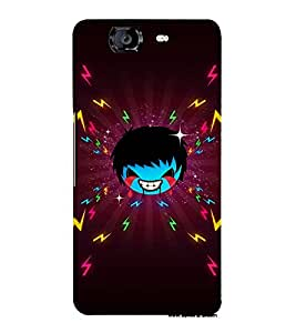EPICCASE Crying demon boy Mobile Back Case Cover For Micromax Canvas Knight A350 (Designer Case)