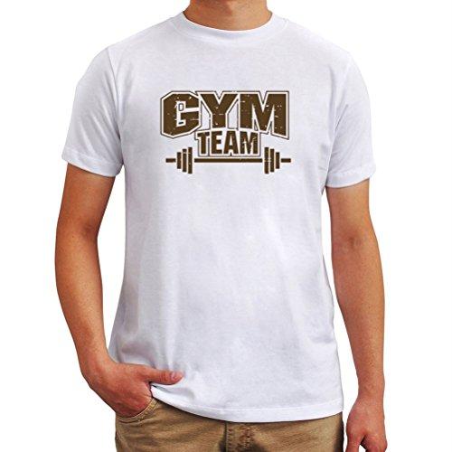 Maglietta Gym Team Bianco