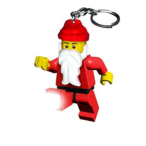 Lego city santa klaus portachiavi led,, taglia unica, lgl ke25
