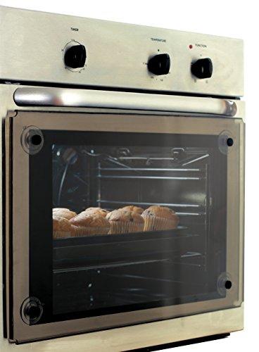 Clevamama Transparenter Ofen Schutz - Wärmereduzierer