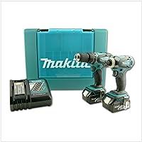 Makita DK1862X 6tlg LXT 18V Combi-Set BHP456/BTD146