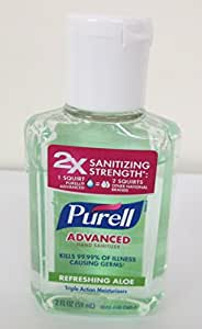 Purell Instant Hand Sanitizer with Aloe 60 ml (Pack of 6)