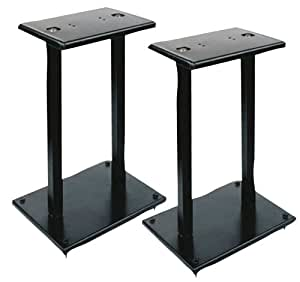 Pyle-Pro PSTND13 13 inch Monitor Speaker Stand (Pack of 2)