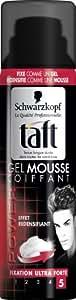 Taft Gel Mousse Coiffant Fixation Extra Forte 5 Flacon 150 ml