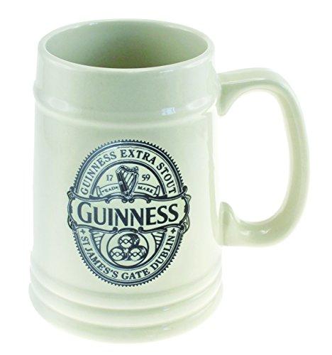 Tazza guinness beer boccale ceramica bianca *03422 gadget idea regalo birra