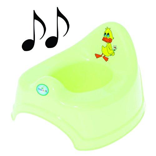 Potty-Pot pour bébé Musical pour les tout-petits-Facile à Nettoyer (Marke Tous)
