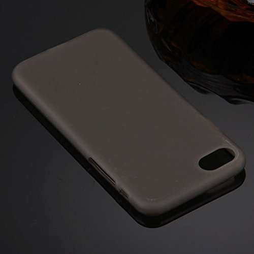 Original TheSmartGuard iPhone 6S-6 Hülle Silikon Case TPU Schutzhülle (4,7 Zoll) geeignet für iPhone 6 und iPhone 6s -- **NEU** 360°-Protection **NEU** -- in schwarz Grau