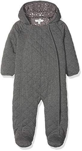 NAME IT NAME IT Unisex Baby Schneeanzug NBNMILK Suit Grau Grey Melange, 50