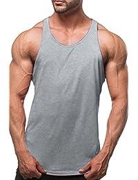 Vepodrau Bodybuilding Muscle Racerback Tank Top Sin Mangas De Los Hombres
