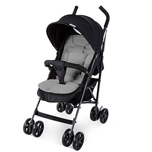 Yyqx Kinderwagen Ultraleichte Kinderwagen mit Vier Rädern Trolley Babytrage klappbaren tragbaren Reisen Pram for Neugeborene Kinder Kinderwagen Buggy (Color : C)
