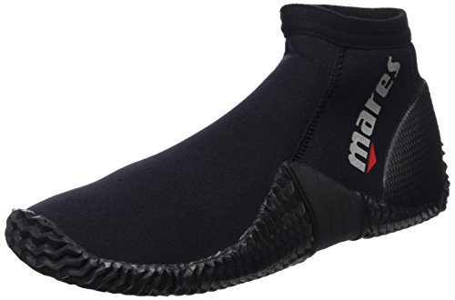Mares Erwachsene Füßling Dive Boots Equator 2 mm, Black/Grey, 8 (40/41), 41261312020 -