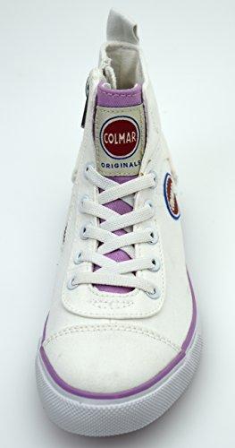 Carioca Scarpa Colmar Bambina Bianco Durden Rosa E 216 Sneaker Art dpvPqnPx8Z