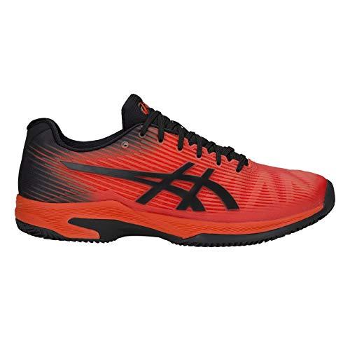 ASICS Uomini Solution Speed FF Clay Scarpe da Tennis Scarpa per Terra Rossa Arancione - Nero 49
