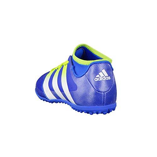 adidas - Ace 16.3 Primemesh Tf J, Scarpe da calcio Unisex – Bimbi 0-24 Multicolore (Azul / Verde / Blanco (Azuimp / Seliso / Ftwbla))