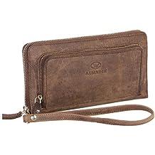 Damen Geldbeutel Geldbörse Handtasche Portemonnaie Schleife Unifarbe LP