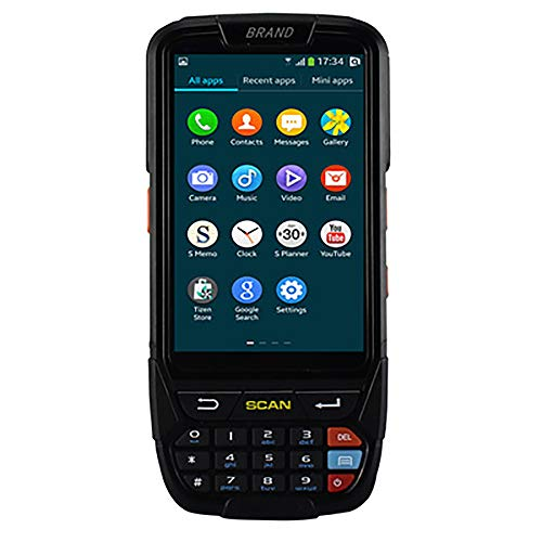 1D / 2D Barcode-Scanner Drahtloses WiFi Bluetooth GPS Barcode-Leser 4G Handheld PDA Android 7.0 POS Terminal Touchscreen -