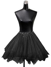 HIMRY Design jupon Crinoline Petticoat jupon nuptiale de mariage, 3 couches, taille unique, convient pour une taille 34 - 44, KXB-0034