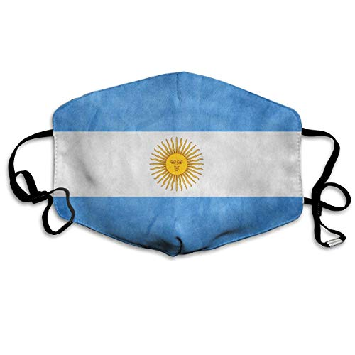 Argentina Vintage Flag Anti-dust Mouth Mask Face Masks Mouth Cover for Man and Woman
