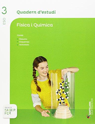 QUADERN D'ESTUDI FISICA I QUIMICA 3 ESO SABER FER - 9788490479629