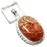jewels paradise Colgante de Jaspe marrón Hecho a Mano en Plata de Ley 925...