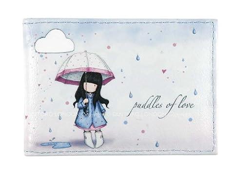 Santoro Gorjuss Puddles of Love Travel Card Holder
