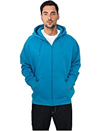 urban classics zip hoodie