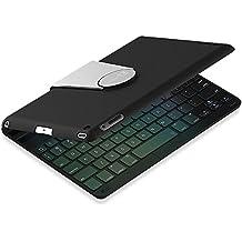 iPad Air Teclado, JETech® Bluetooth Teclado Inalámbrico Funda Case con Rotación de 360 Grados y Multi-Angel Soporte para Apple iPad Air