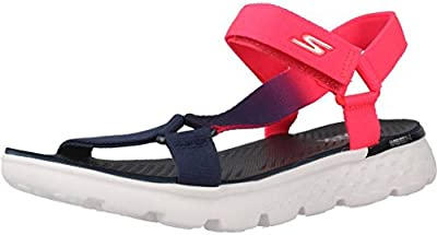 Sandalias y chanclas para mujer, color Rosa , marca SKECHERS, modelo Sandalias Y Chanclas Para Mujer SKECHERS ON THE GO JAZZY Rosa