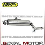 72011PD Auspuff Arrow Enduro 4T Stahl Xt 600 E 1990 > 1994