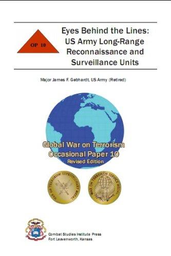 Eyes Behind the Lines: US Army Long-Range Reconnaissance and Surveillance Units (English Edition) Surveillance Unit
