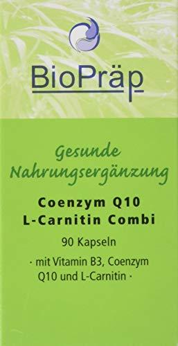 COENZYM Q10 L-Carnitin Combi 30 mg+180 mg Kapseln 90 St -