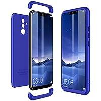 8376a58e3fc73 CE-Link Kompatibel mit Huawei Mate 20 Lite Hülle Hardcase 3 in 1 Handyhülle  360