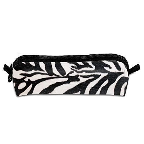 Pengyong Federmäppchen mit Reißverschluss, Zebra-Streifen, für Schüler, Teenager und andere Schulbedarf, klein -