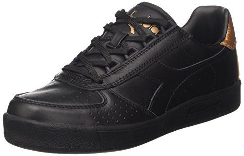 Diadora B.Elite W, Sneaker a Collo Basso Donna Nero