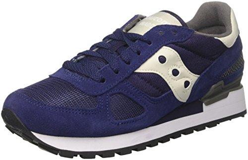 Saucony Shadow Original, Sneaker Uomo, Multicolore (Blue/Grey), 46 EU