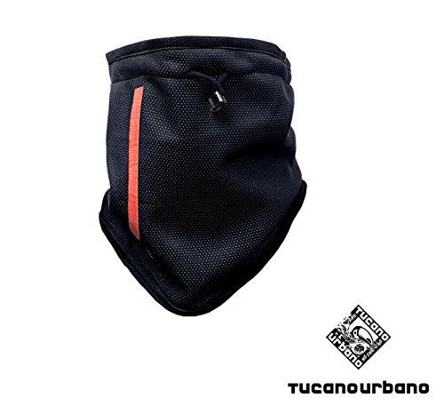Collare per gola moto scooter 615wb tucano urbano nero windbreaker/pile 100%