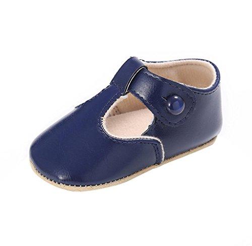 Kleinkind Schuhe Blau Covermason Leder Neugeborene Krippe Baby Weiche Sohle Rutschfest TqRwSWW7OU