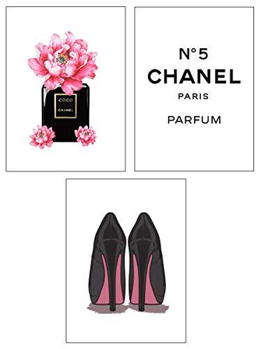 4Good Epictures Premium Poster als Wandbild | Bilder Set Fuer Moderne Wohnzimmer Deko/Wandbild Schlafzimmer deko Coco Chanel/Dior | pefekte Wandbilder ohne Rahmen (Coco Chanel, A4) -