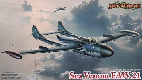 Cyber Hobby Hobby Hobby CH5096 Sea Venom FAW.21 1:72 Plastic Kit | Outlet  fb1959