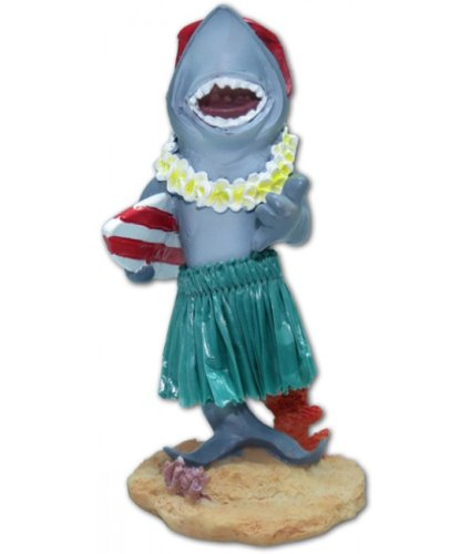 Hawaiian-salpicadero-en-miniatura-mueca-Shark-con-tabla-de-surf