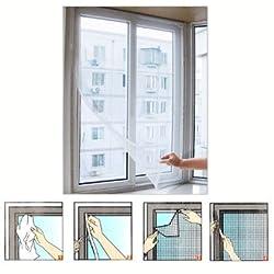zizzi Fenster Insektenschutz Klettverschluss Mesh Net Bug Fly Moth Moskitonetzen Schutz Shopmonk