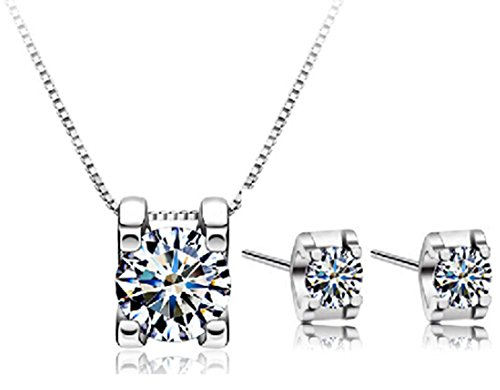 SaySure - 925 Sterling Silver Jewelry Sets AAA Zircon Only You Star Set