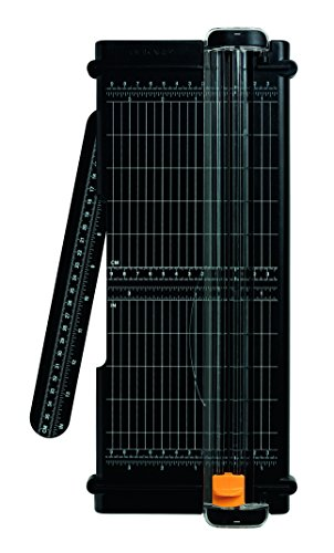 Fiskars 5454 Recycelte A4 SureCut Titanium Papierschneidemaschine 30 cm