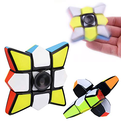fa632a0be2f7a7 TianranRT Pocket Turning Toy Upgrade Fidget Toy 1x3x3 Magic Cube Puzzle  Spinner Entrenamiento Enfoque EDC Stress