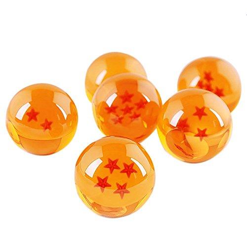 MMRM 3.5CM Dragon Balle Z Dans la Boîte 7 Étoiles Boules de Cristal Set