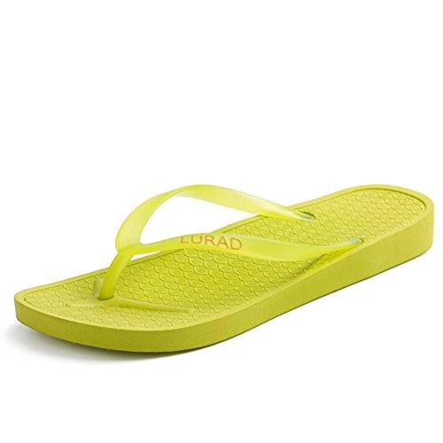 Puro colore semplice signora pantofole/Sandali e pantofole in estate/Sandali da bagno C