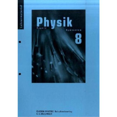 Lehrermaterial Physik 8 Bayern Gymnasium